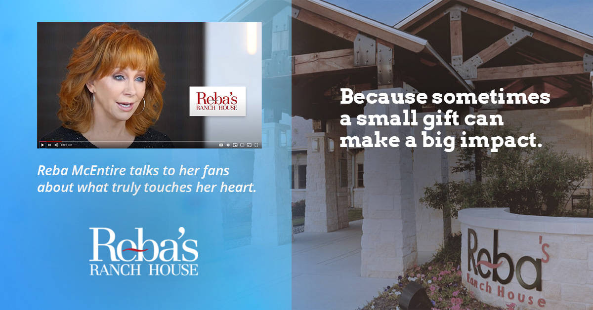 Promo video for Reba McEntire